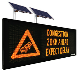 solor powered Variable Message Signs