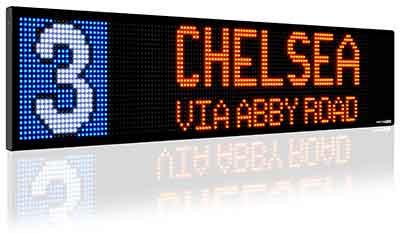 Bus Destination Sign Board