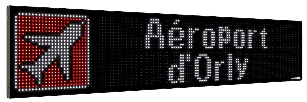full color led destination sign