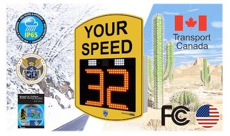 radar speed sign compliances