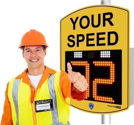 radar speed sign easy instalation