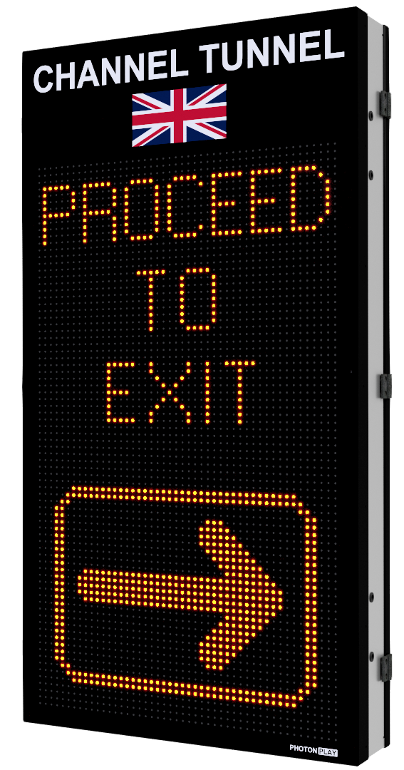 TUNNEL ADVISORY SIGNS